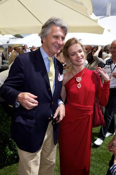 Arnaud Bamberger and Natalia Vodianova