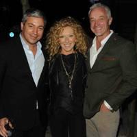 Meir Abutbul, Kelly Hoppen and John Gardiner
