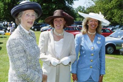 The Hon Avril Curzon, Viscountess Scarsdale and Mrs Patrick Haslam