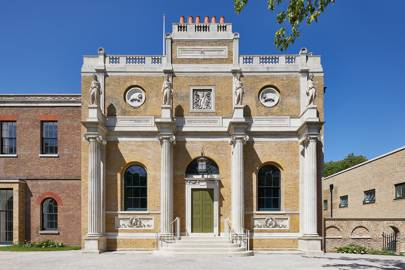 Anish Kapoor at Pitzhanger Manor, West London