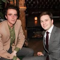 Louis Sheridan and Ben Lampkin