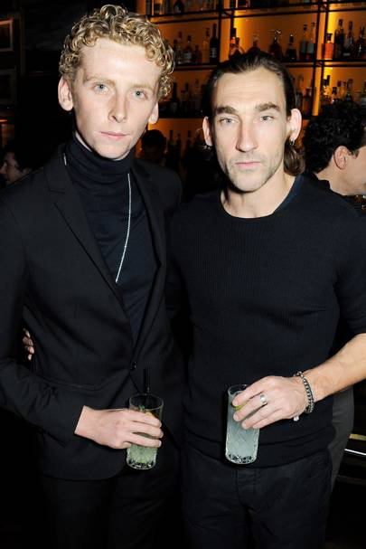 Edward Ashley and Joseph Mawle