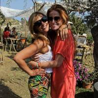 Melanie Blatt and Patsy Palmer
