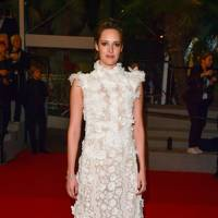 Phoebe Waller-Bridge wearing Giambattista Valli in 2018