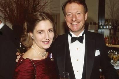 Countess Alexander of Tunis and Baron Yvan de Navacelle de Coubertin