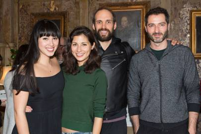 Melissa Hemsley, Jasmine Hemsley, Russell Bateman and Nick Hopper