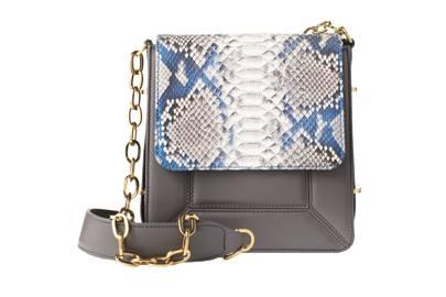 Python & Calfskin bag, £1,400 by Badura