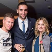 Michael Hennegan, Marin Cilic and Edwina Ings-Chambers
