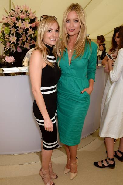 Joanne Froggatt and Laura Whitmore