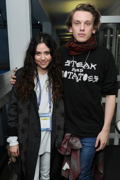 Eliza Doolittle and Jamie Campbell-Bower