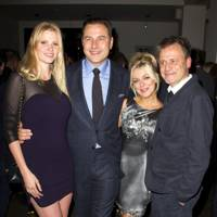 Lara Stone, David Walliams, Michael Grandage and Sheridan Smith