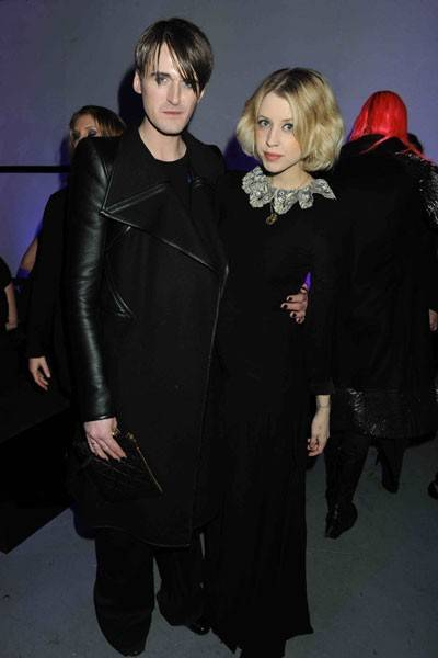 With Gareth Pugh at his launch with MAC in 2011