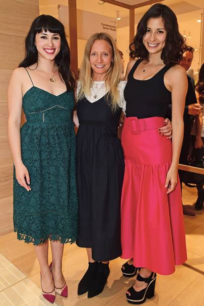 Melissa Hemsley , Martha Ward and Jasmine Hemsley
