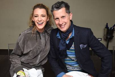 Blake Lively and Stefano Tonchi