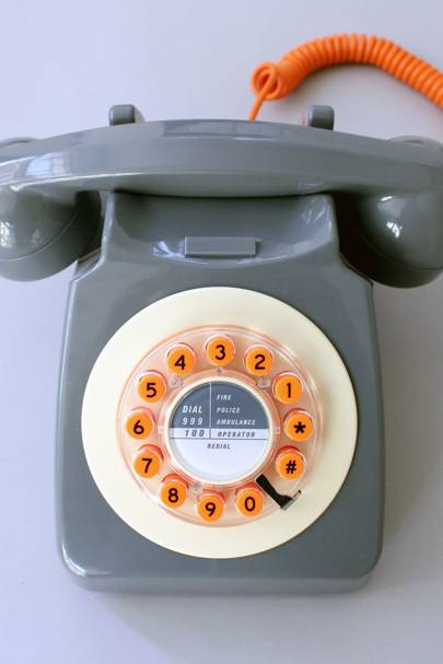 Retro phone from the Ikon Gallery