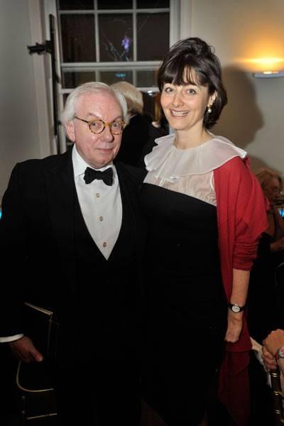 David Starkey and Georgia Coleridge