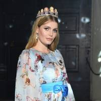 Lady Kitty Spencer at Dolce & Gabbana A/W18