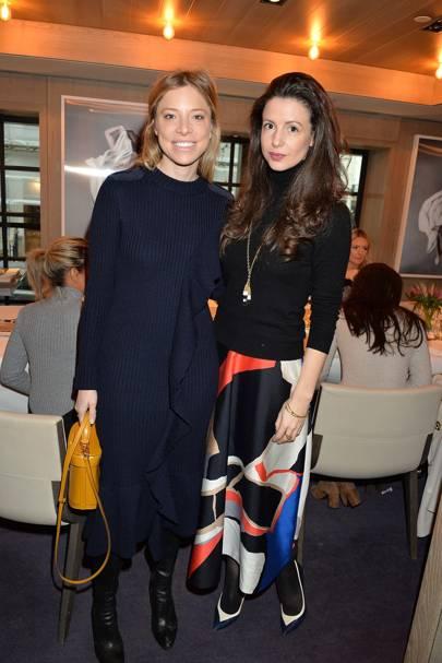 Johanna Dunn and Shirley Leigh-Wood Oakes