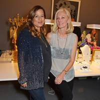 Jade Jagger and Joely Richardson
