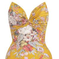 Swimsuit, £229, by Zimmermann