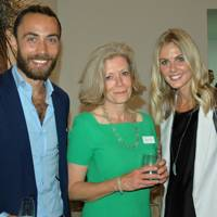 James Middleton, Fiona Cairns and Donna Air
