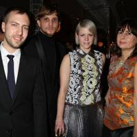 Peter Pilotto, Christopher de Vos, Jaime Perlman and Alexandra Shulman