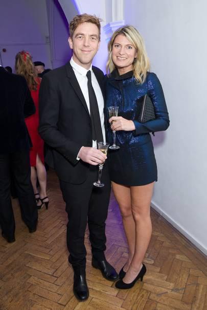 Tom Bazeley and Antonia Harrison