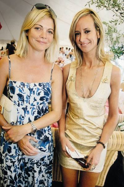 The Countess of Mornington and Lady Victoria Hervey