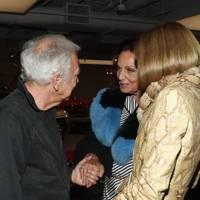 Ralph Lauren, Diane von Furstenberg and Anna Wintour