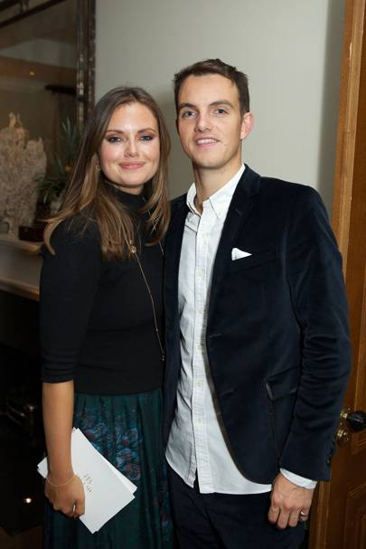 Lady Natasha Rufus Isaacs  and Viscount Erleigh