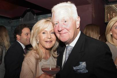 Liz Brewer and Sir Benjamin Slade
