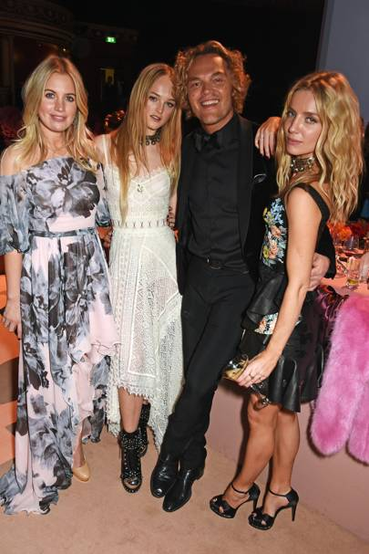 Marissa Montgomery, Lady Jean Campbell, Peter Dundas and Annabelle Wallis