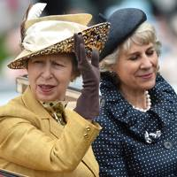 The Princess Royal and the Duchess of Gloucester