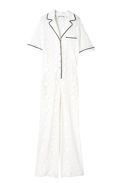 Cotton jumpsuit, £1,900, by Emanuel Ungaro