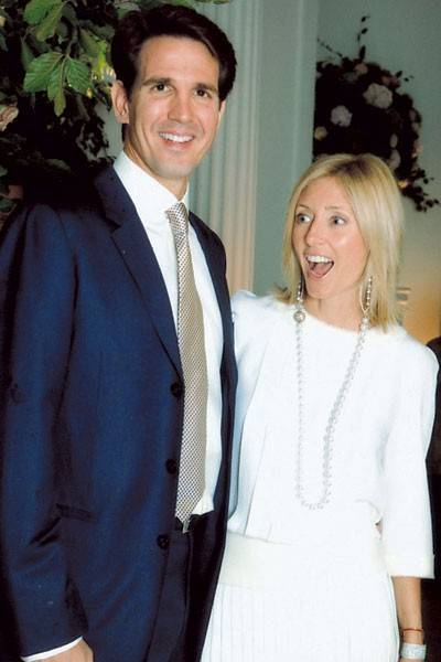 Crown Prince Pavlos of Greece and Crown Princess Pavlos of Greece