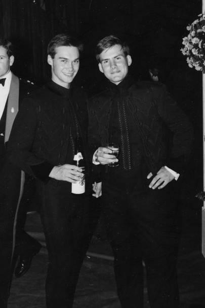 Ian Thomas and James Cheshire