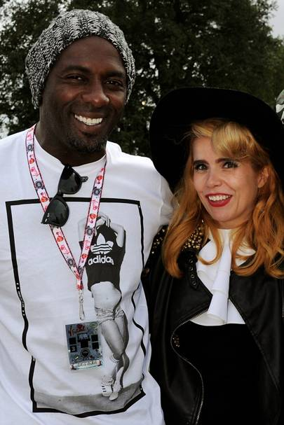 Idris Elba and Paloma Faith