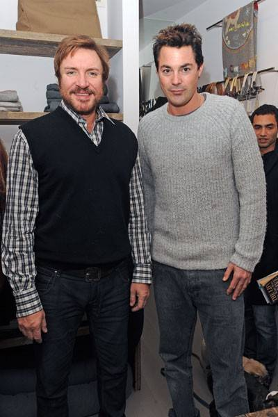 Simon Le Bon and Lucas White