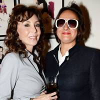 Marie Helvin and Selina Blow