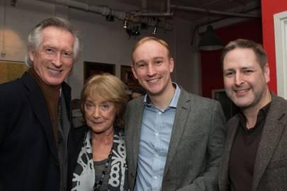 Peter Land,Dame Gillian Lynne, Stuart Matthew Price and Nick Winston