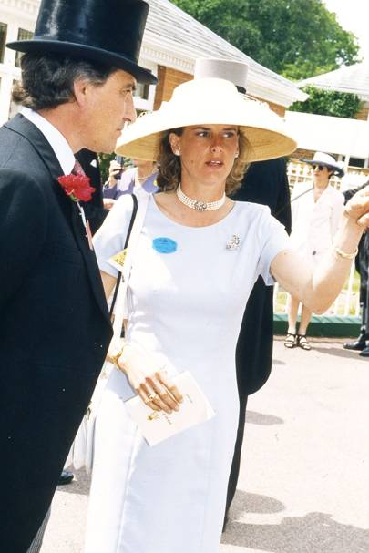 Luca Cumani and Mrs Luca Cumani