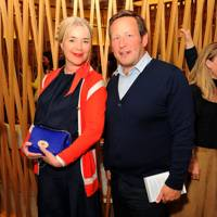 Anne-Marie Verdin and Ed Vaizey