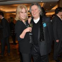Joanna Lumley and Stephen Barlow