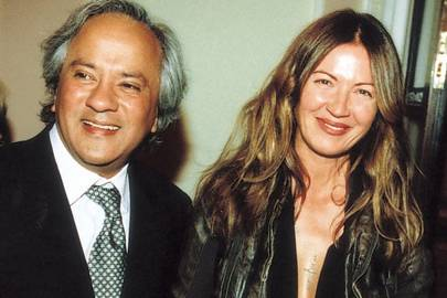 Anish Kapoor and Mrs Anish Kapoor