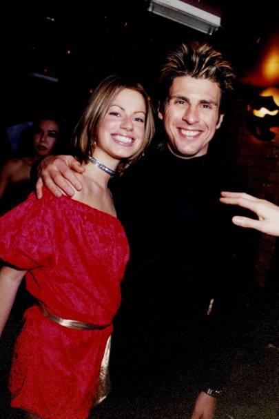 Caroline Stanbury and James Polanski