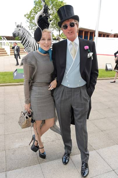 Daphne Guinness and Robin Hurlstone