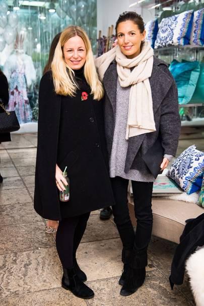 Astrid Harbord and Amanda Sheppard