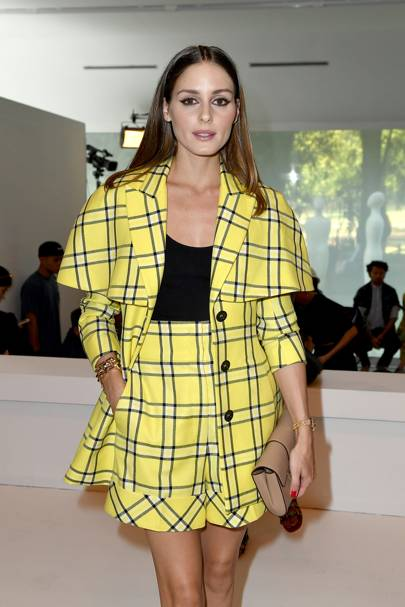 Olivia Palermo at the Tod's show.