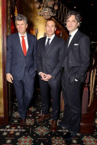 Sean Dixon, Toby Lamb and Olok Banerjee