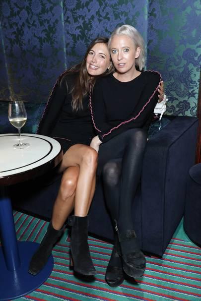 Amanda Westbrook and Sophia Hesketh